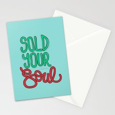 Sold Your Soul Stationery Cards