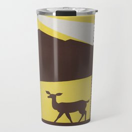 Vintage poster - National parks Travel Mug