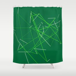 connect trace 04 Shower Curtain