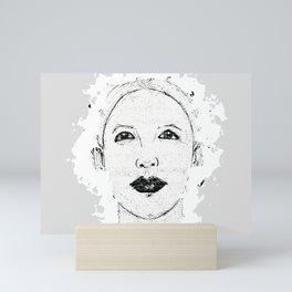 Hopeful Look Into The Future Mini Art Print