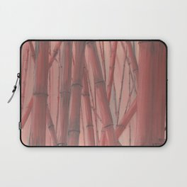 Red bamboo Laptop Sleeve