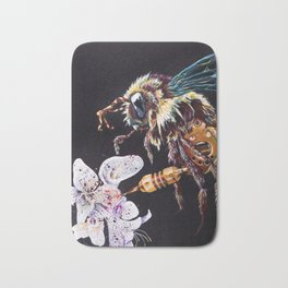 Art of Pollination Bath Mat