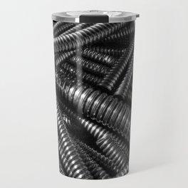 Coruugated tubing Travel Mug