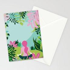 Yoga Garden Stationery Cards