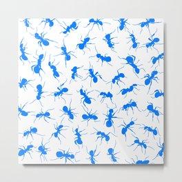 Blue Ants Metal Print