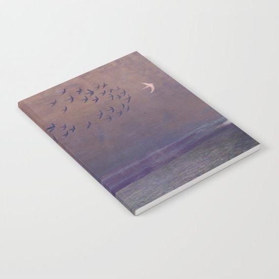 'under every deep a lower deep opens' Notebook