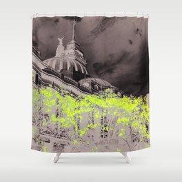 Beaux Art Mexico Shower Curtain