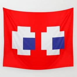 Retro Game Ghost Wall Tapestry