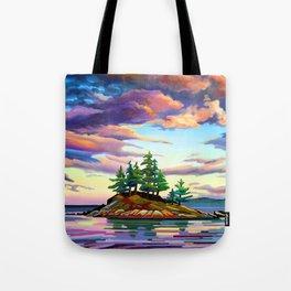 Skedans Islet Tote Bag