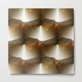 Golden Lace in the mountains... Metal Print