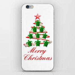 Coastal Merry Christmas iPhone Skin