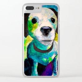 Bailey boy Clear iPhone Case