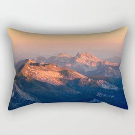 Orange Light Rectangular Pillow