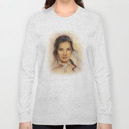 Native American Woman Long Sleeve T-shirt