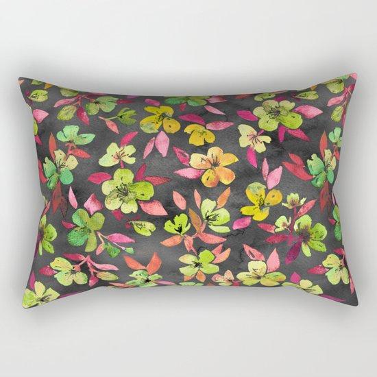 Southern Summer Lime Pop Rectangular Pillow