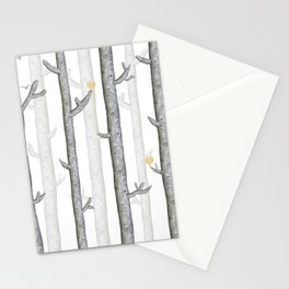 Nature lover trees Stationery Cards