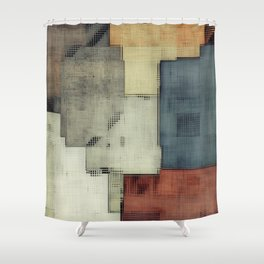 Geometric/Abstract DZ Shower Curtain