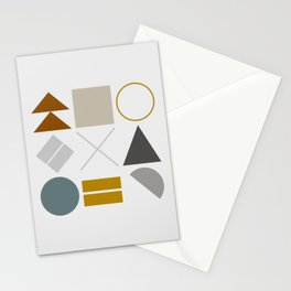 Mid West Geometric 02 Stationery Cards