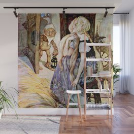 """""""The Millers Daughter"""" by Anne Anderson Wall Mural"""