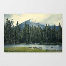 Mt Mcloughlin Canvas Print