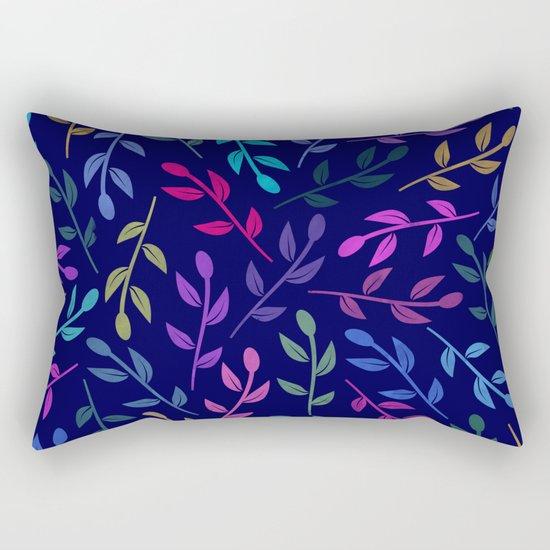 Colorful Leaves VI Rectangular Pillow