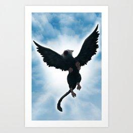 Trico Flying high Art Print