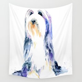 Bearded Collie Wall Tapestry