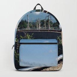 Time Is A Flat Circle - Gatlinburg Backpack