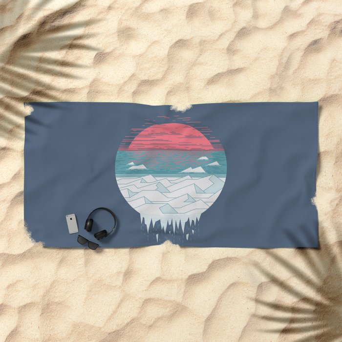 The Great Thaw Beach Towel