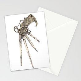 Scissorhands (Sepia-L) Stationery Cards