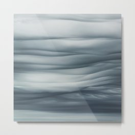 Undulatus Asperatus Clouds Metal Print