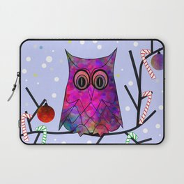 The Festive Owl Laptop Sleeve