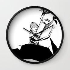 Devil is mine - Emilie R. Wall Clock