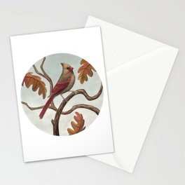 Cardinal (Female) Stationery Cards