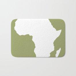 Safari Green Audacious Africa Bath Mat