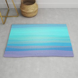 Pastel Evening -The Cool Moon's Glow Rug