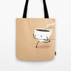 Seb, the cup of coffee Tote Bag