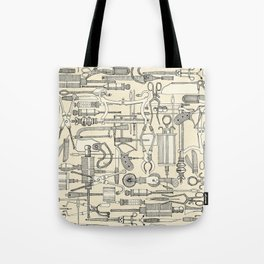 fiendish incisions cream Tote Bag