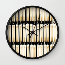 The Bead Curtain Wall Clock