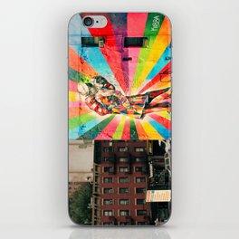 Street Art Mural, Times Square Kiss Recreation iPhone Skin
