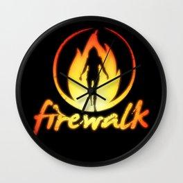 Firewalk - Life is strange Before the storm Wall Clock