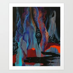 The perspective from here is daunting Art Print