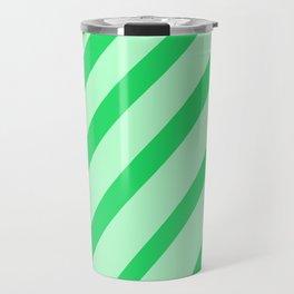 Leaf Stripes Travel Mug