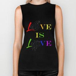 Love Is Love Biker Tank