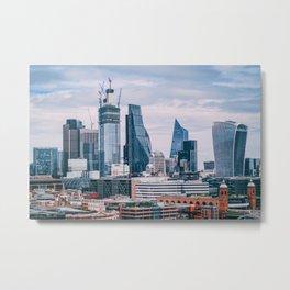 London Cityscape (Color) Metal Print