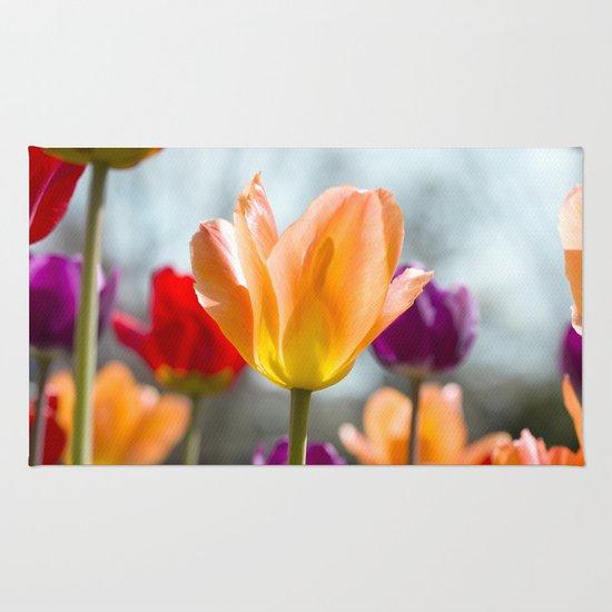 Tulip Dance Rug