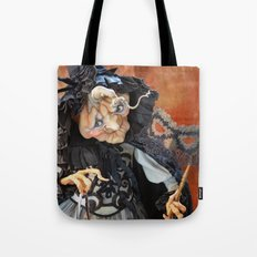 Rucus Studio Late to the Party - Pumpkin Lady Tote Bag