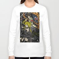 death note Long Sleeve T-shirts featuring Death Note by SpontaneousOD
