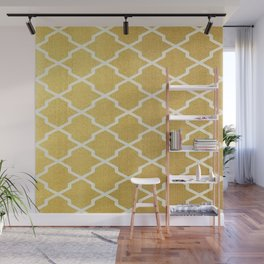 Gold Pattern Wall Mural