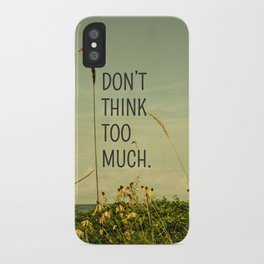 Travel Like A Bird Without a Care iPhone Case